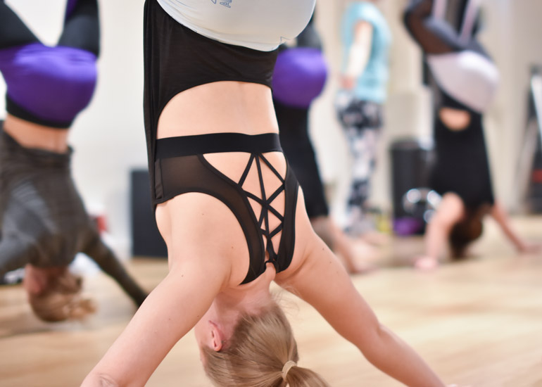 AntiGravity Sweden Aerial Yoga